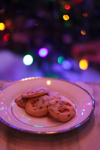 Chocolate Chip Candy Cane Cookies by Doughvelopment 2